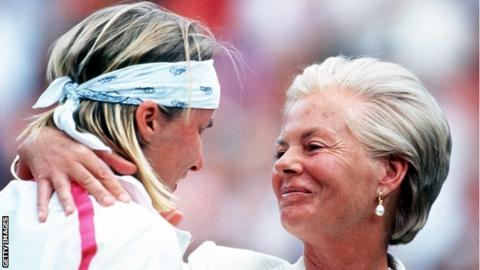 "Jana Novotna: Duchess of Kent says Wimbledon ""will not be the same"""