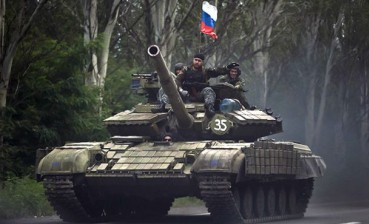 Russian tanks cross non-controlled Ukrainian border, enter Luhansk