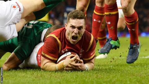 George North: Wales wing to leave Northampton Saints and return to home country