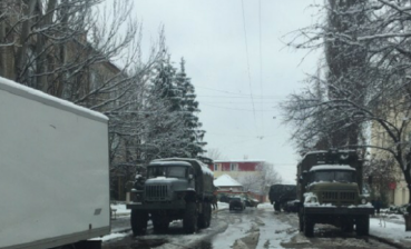 OSCE continues to note military equipment, armed men in Luhansk