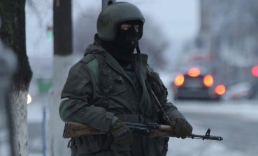 30 military vehicles, 150 armed people in downtown Luhansk, - OSCE