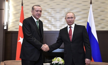 Putin dumps Erdogan's chair