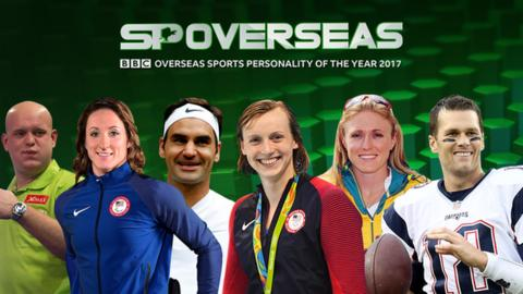 Overseas Sports Personality of the Year 2017: Voting open for BBC award