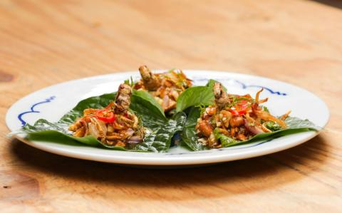 You can now order insect dishes on Deliveroo - so what's on the menu?