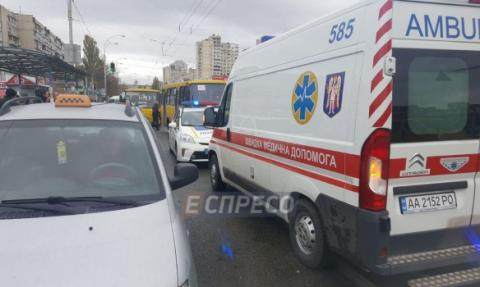 Bus runs over people in Kyiv, two killed