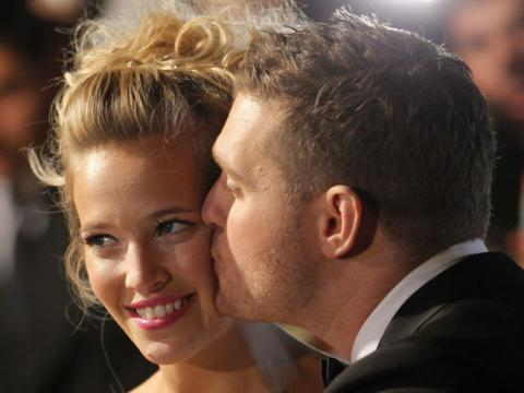 Buble to perform after son