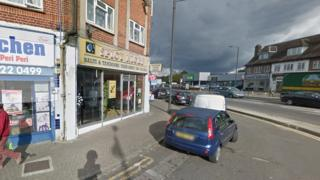 Nazi-salute man drove at curry shop owner in Harrow