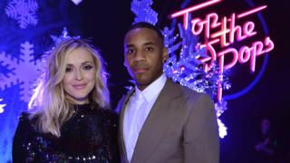 Reggie Yates leaves Top of the Pops after