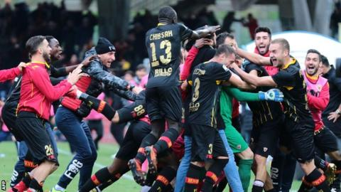 Benevento: Bottom of Serie A but now the most talked about team in Italy