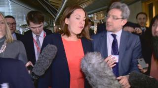 Labour reprimands Kezia Dugdale over I