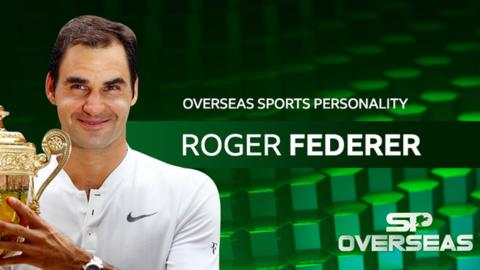 Roger Federer wins 2017 BBC Overseas Sports Personality award for record fourth time