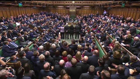 Government loses key Brexit bill vote after Tory rebellion