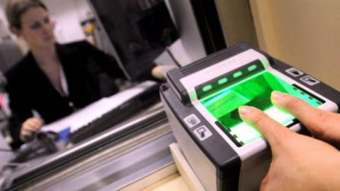 Ukraine tests biometric control on border with Russia