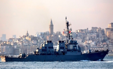 First in 2018 US Navy destroyer entered the Black Sea