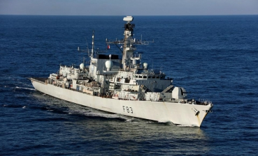 Britain sends frigate to intercept Russian military ships in the English Channel