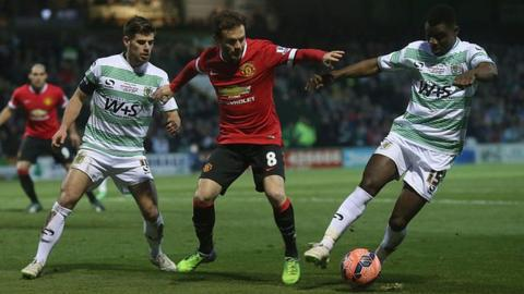 FA Cup fourth round: Manchester United go to League Two Yeovil Town