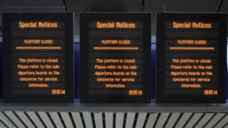Rail strikes at Greater Anglia, Merseyrail, Northern, South Western