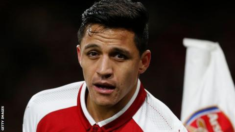 Alexis Sanchez: Decision on Arsenal forward's future imminent after he is left out of squad