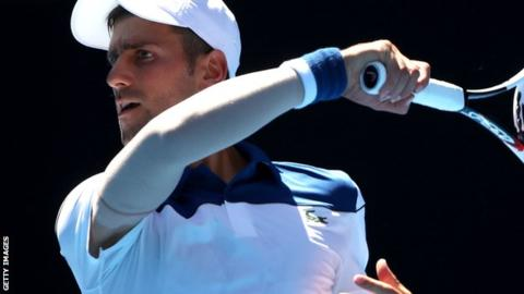 Australian Open 2018: Novak Djokovic beats Donald Young in return to action