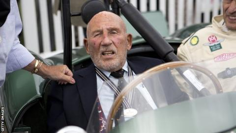Sir Stirling Moss to retire from public life after illness