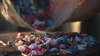 Plastic sea pollution to be recycled into kayaks