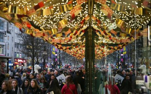 Profit warning-hit retailers plunge as official figures expected to confirm Christmas retail sales slump