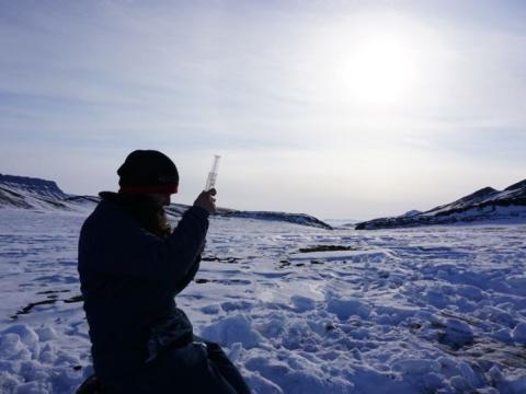 Is new Arctic research the key to finding life on Mars?