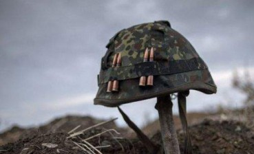 One Ukrainian soldier died in Donbas