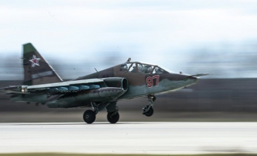 Russian aircraft Su-25 shot down in Syria
