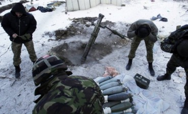 Militants use 82, 120-mm mortars for attacks in Donbas