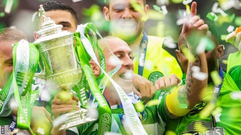 Scottish Cup holders Celtic drawn against Greenock Morton in quarter-finals