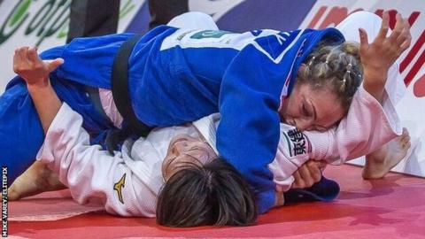 Paris Grand Slam: Sally Conway wins -70kg gold