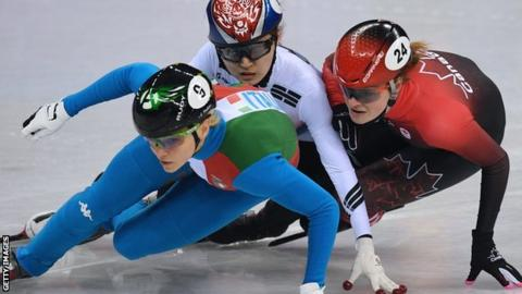Winter Olympics: Kim Boutin target of online abuse after bronze medal