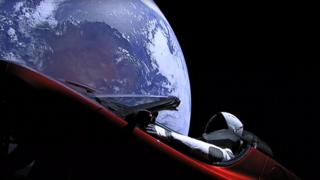 Musk's Tesla to stay in space for millions of years