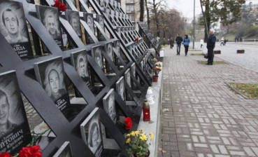 Kyiv commemorates heroes of the Heavenly Hundred