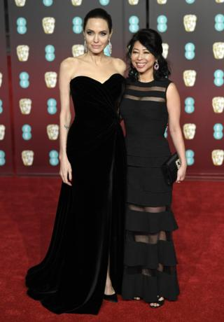 Bafta Awards 2018: Stars wear black on the red carpet