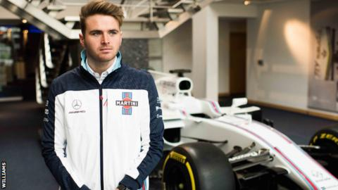 Oliver Rowland: Williams name Briton as their young driver for 2018 season