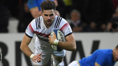 Six Nations: France 34-17 Italy