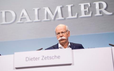 Daimler races to record profits but 'monkey-gate' casts cloud over results