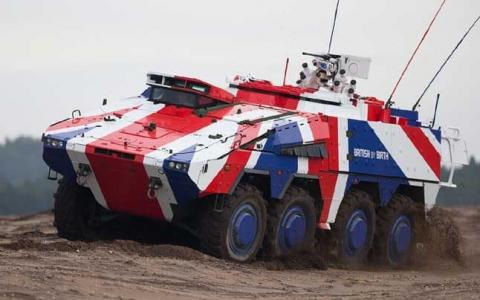 UK jobs pledge in battle to win ?2bn contract for new Army vehicle deal