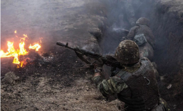 Three militant attacks on Ukrainian soldiers today