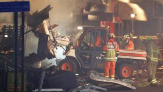 Three charged over fatal Leicester blast