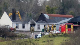 Man charged over fatal fire in Fermanagh