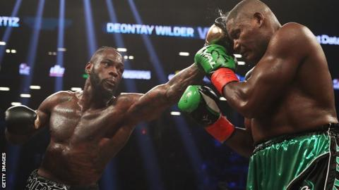 Deontay Wilder 'ready' for Anthony Joshua after beating Luis Ortiz