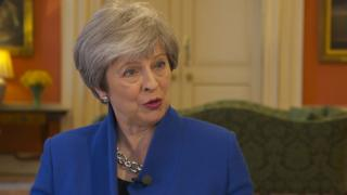 Brexit: Theresa May urges EU to buy into 'ambitious' vision