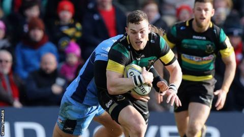 George North: Wales winger 'hung out to dry' by Northampton boss Alan Gaffney