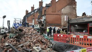 Leicester shop explosion: Three men in court over fatal blast