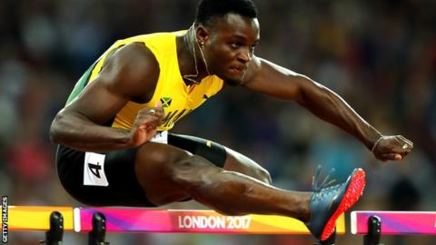 Commonwealth Games 2018: Omar McLeod 'did not make himself available'
