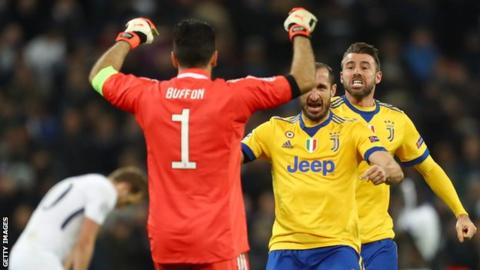 Champions League: Tottenham always miss something - Juventus' Giorgio Chiellini