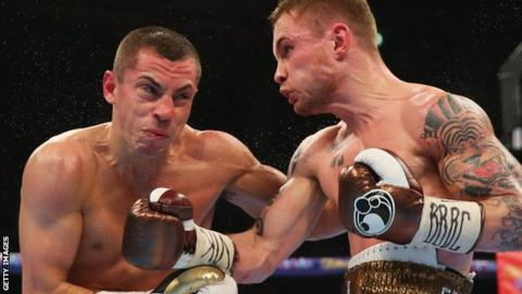 Scott Quigg loses on points to unbeaten Oscar Valdez